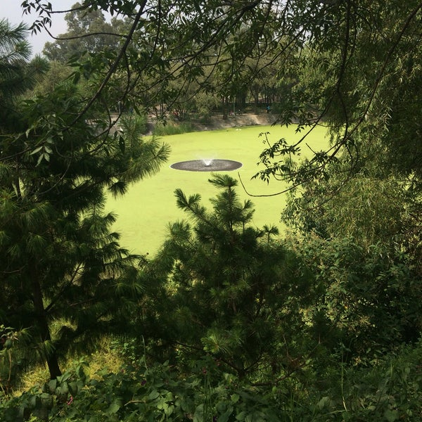 Photo taken at Parque Ecologico Huayamilpas by Marina A. on 9/25/2016