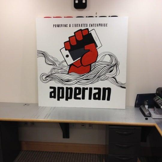 Photo taken at Apperian by Merlin C. on 10/19/2012