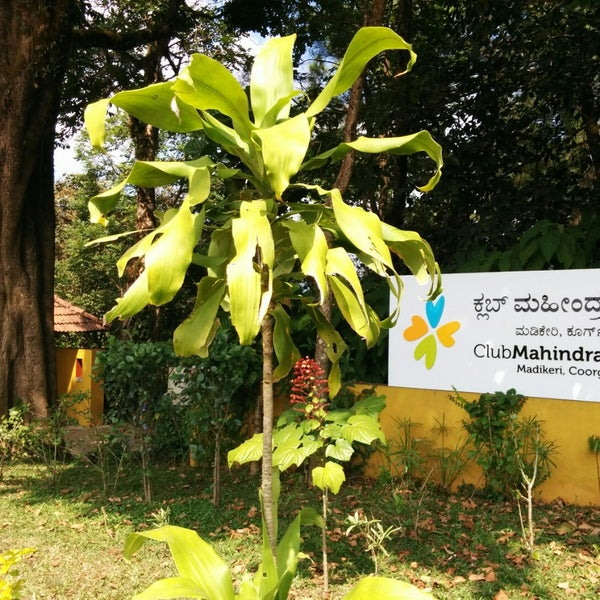 Photo taken at Club Mahindra Madikeri, Coorg by Vishant A. on 12/23/2014