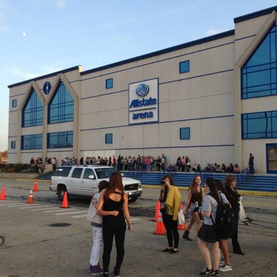 Photo taken at Allstate Arena by Amanda F. on 10/24/2012