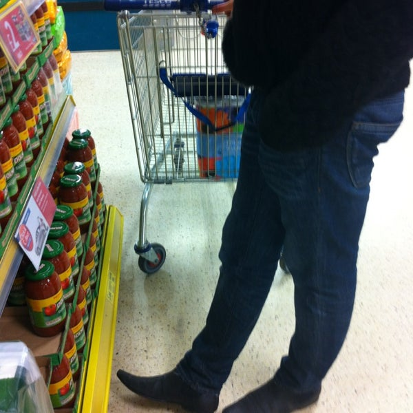 Photo taken at Tesco by Marisa on 2/23/2013