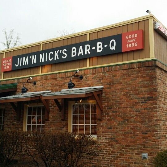 Photo taken at Jim 'N Nick's Bar-B-Q by Jerry L. on 4/8/2014