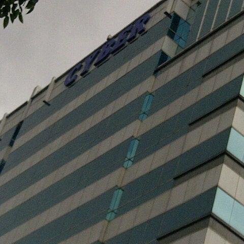 Photo taken at Gedung Cyber 1 (Elektrindo) by saktius on 12/18/2012