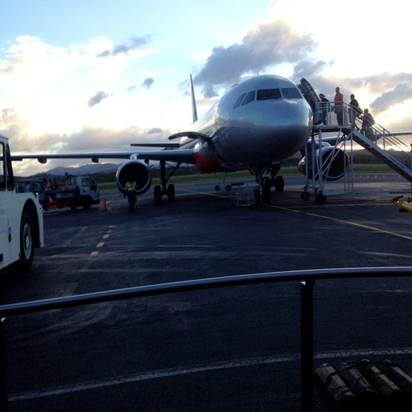 Photo taken at Gold Coast Airport (OOL) by Ricardo T. on 3/10/2014