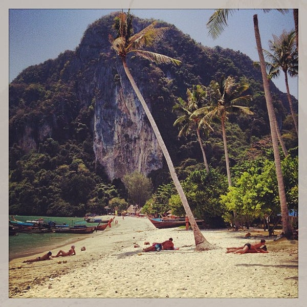 Photo taken at Phi Phi Island by Ruslan P. on 3/9/2013