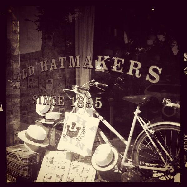 Photo taken at Goorin Bros. Hat Shop by j z. on 5/11/2013