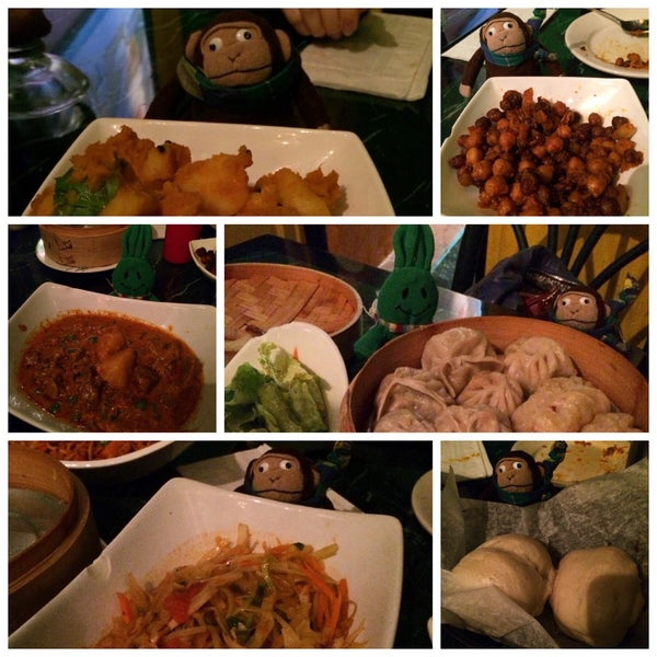 Photo taken at Cafe Tibet by greenie m. on 3/22/2015
