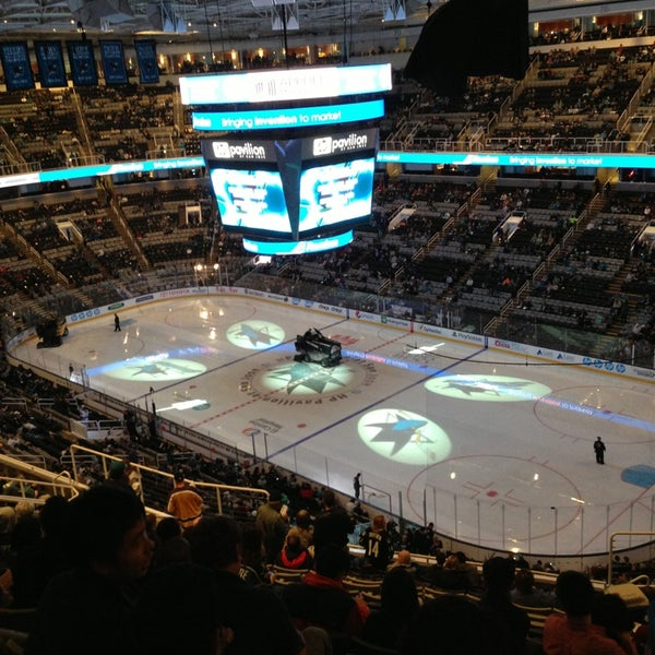Photo taken at SAP Center at San Jose by Roxanne G. on 3/15/2013