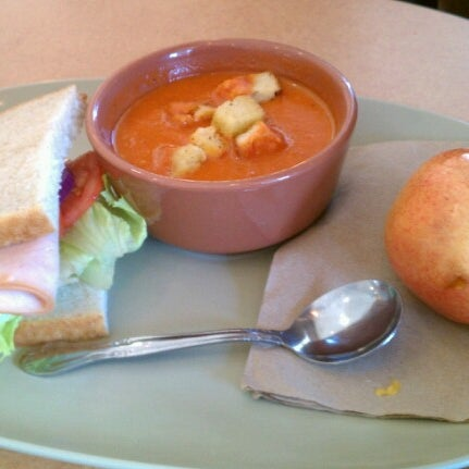 Photo taken at Panera Bread by Orlando D. on 10/16/2012