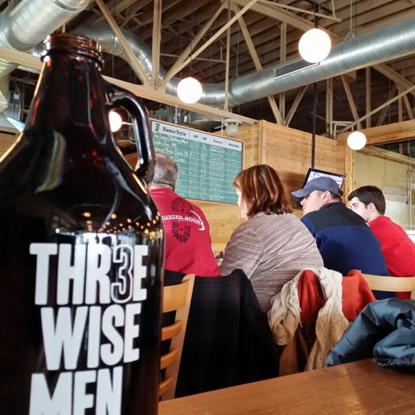 Photo taken at Thr3e Wise Men Brewing Co. by John K. on 3/2/2014