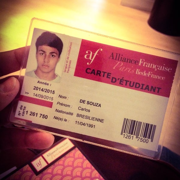 Photo taken at Alliance Française by Junior P. on 9/15/2014