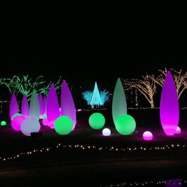 Photo taken at Atlanta Botanical Garden by Helen C. on 12/31/2012