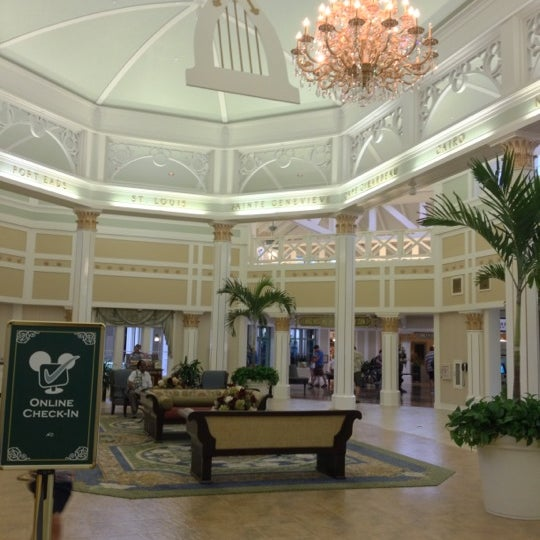 Photo taken at Disney's Port Orleans Riverside Resort by Kristen J. on 10/17/2012