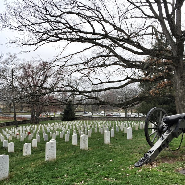 Photo taken at Soldiers' National Cemetery by Vic W. on 4/10/2015