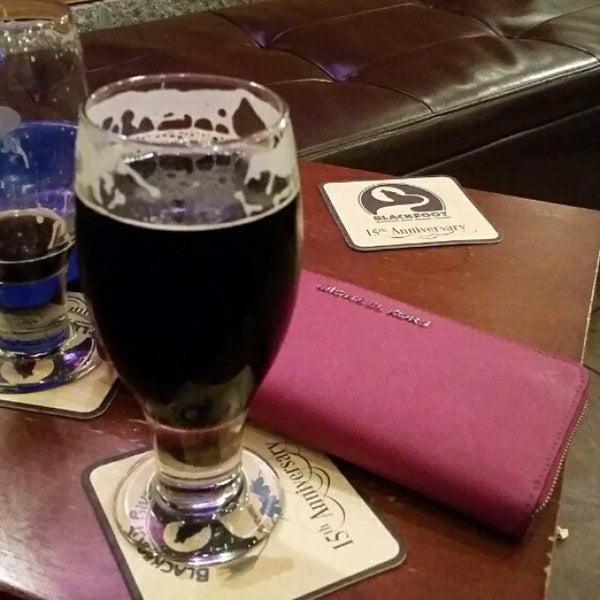 Photo taken at Blackfoot River Brewing Company by Jennifer H. on 12/27/2014