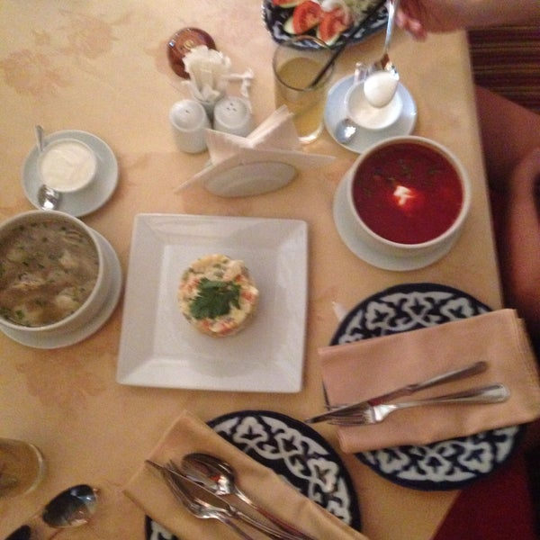 Photo taken at Gulnaz Cafe by Daria K. on 5/15/2015