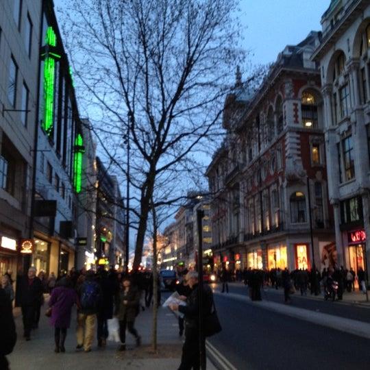 Photo taken at Oxford Street by Kai S. on 1/4/2013
