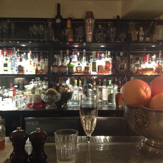 Photo taken at Hawksmoor Seven Dials by Louise M. on 3/24/2013