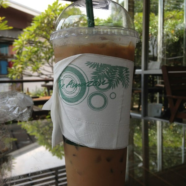Photo taken at Café Amazon (คาเฟ่ อเมซอน) by BeBee P. on 3/10/2013