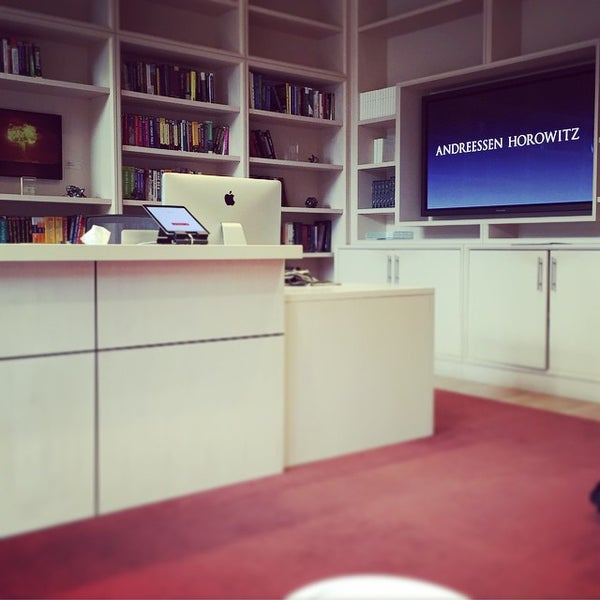 Photo taken at Andreessen Horowitz by renee b. on 7/10/2015