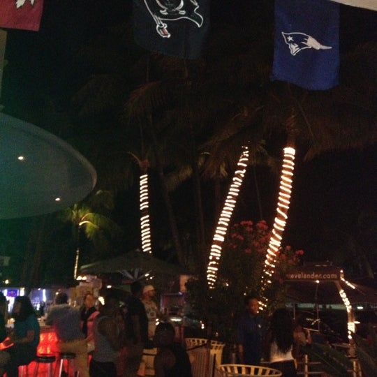 Photo taken at Clevelander by Filipe P. on 12/10/2012