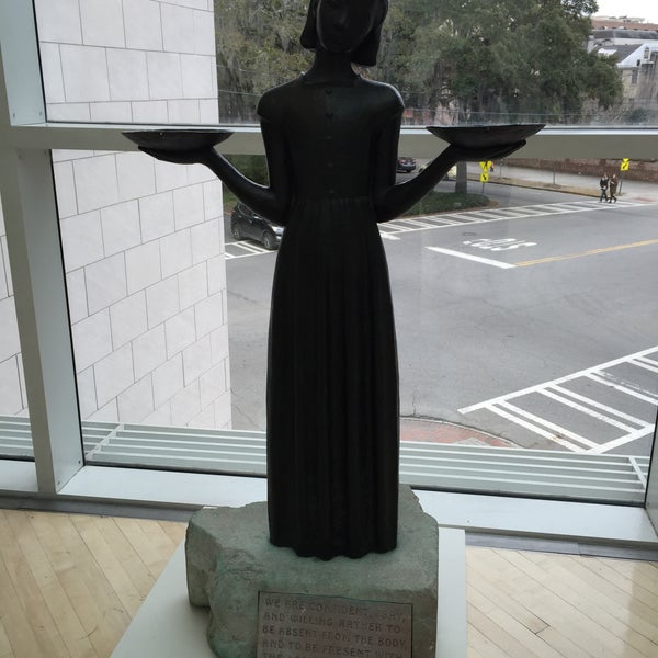 """Photo taken at Telfair Museums' Jepson Center by Amy """"Amo"""" B. on 3/6/2015"""