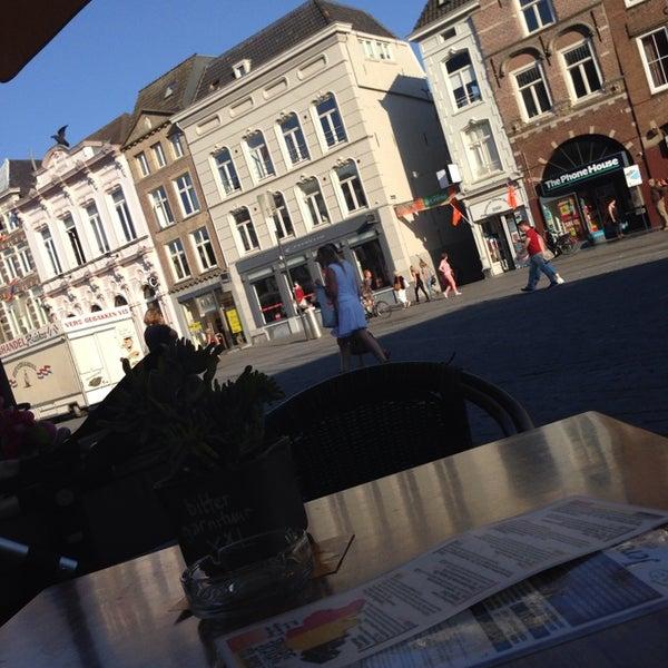 Photo taken at Jeronimus eet & borrel café by Cynthia A. on 7/3/2014