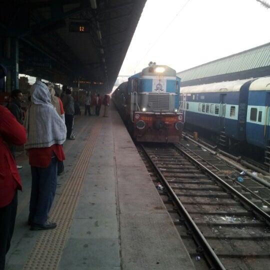 Photo taken at New Delhi Railway Station (NDLS) by Clinton B. on 2/10/2013