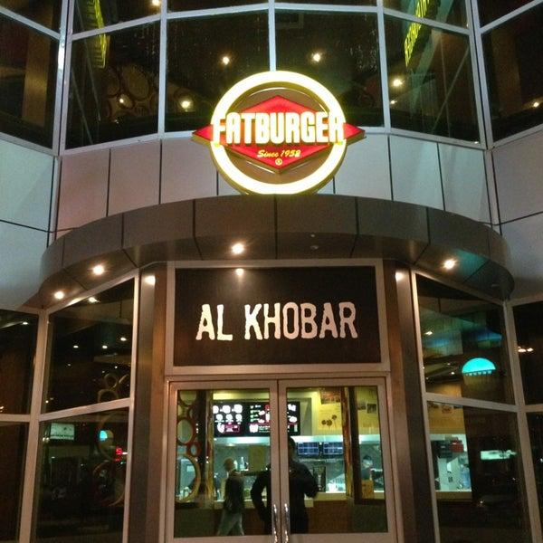 Photo taken at Fatburger | فات برجر by Ahmed K. on 12/25/2012