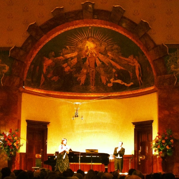 Photo taken at Wigmore Hall by Nina T. on 2/23/2014