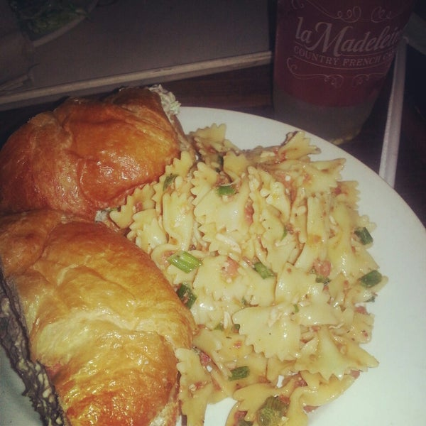 Photo taken at La Madeleine Country French Café by Alfonso H. on 7/3/2013