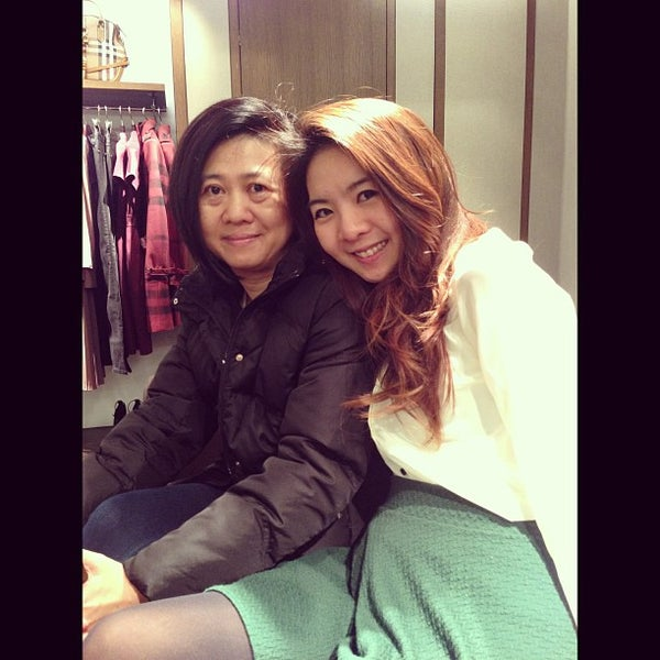 Photo taken at Burberry by Voon T. on 12/28/2012