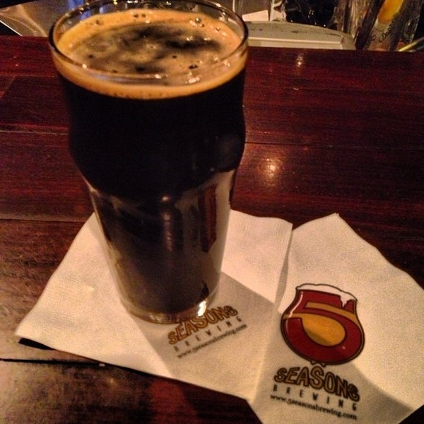 Photo taken at 5 Seasons Brewing by Crayon S. on 11/12/2012