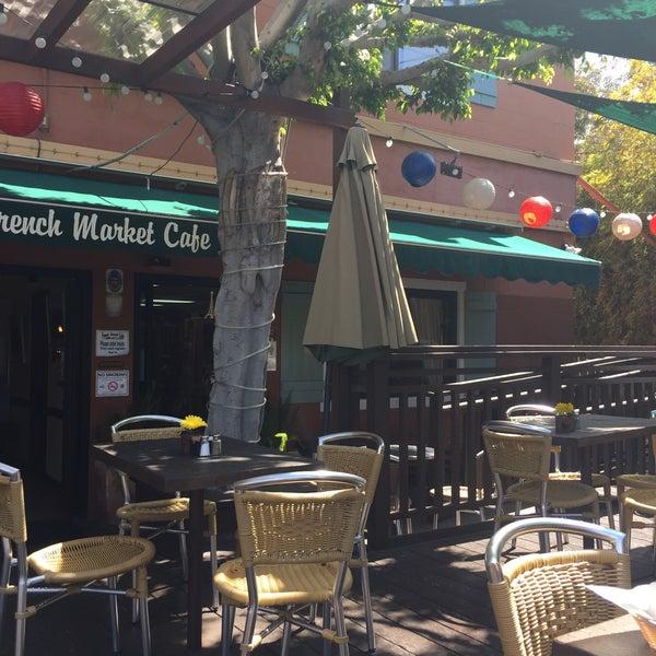 Photo taken at French Market Café by Cheryl S. on 4/5/2016