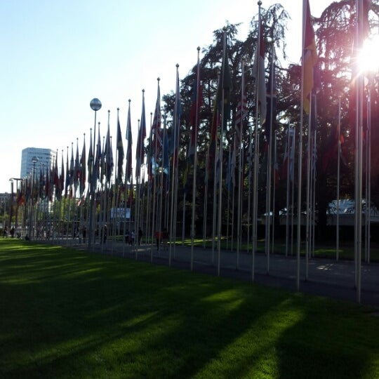 Photo taken at Palais des Nations by Priscila S. on 9/15/2012