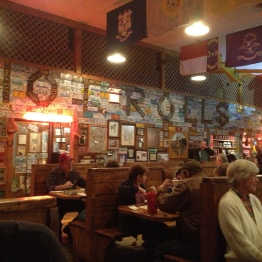 Photo taken at Lambert's Cafe by Troy C. on 10/26/2012