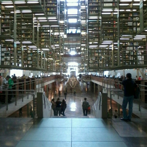 Photo taken at Biblioteca Vasconcelos by José P. on 4/6/2013