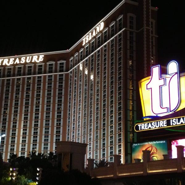 Photo taken at Treasure Island - TI Hotel & Casino by Rob J. on 4/20/2013