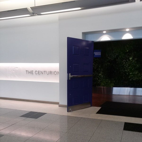 Photo taken at The Centurion Lounge by American Express by Jerry W. on 1/11/2014