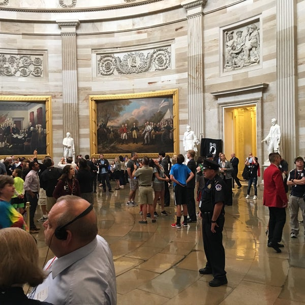 Photo taken at Rotunda of the U.S. Capitol by Kevin M. on 9/28/2016