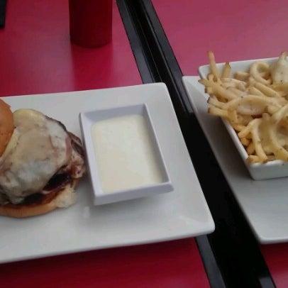 Photo taken at Umami Burger by Darius W. on 9/22/2012