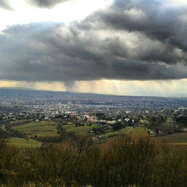 Photo taken at Kahlenberg by Başak Ö. on 12/3/2012