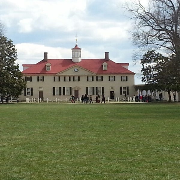 Photo taken at George Washington's Mount Vernon Estate, Museum & Gardens by Michael G. on 3/27/2013