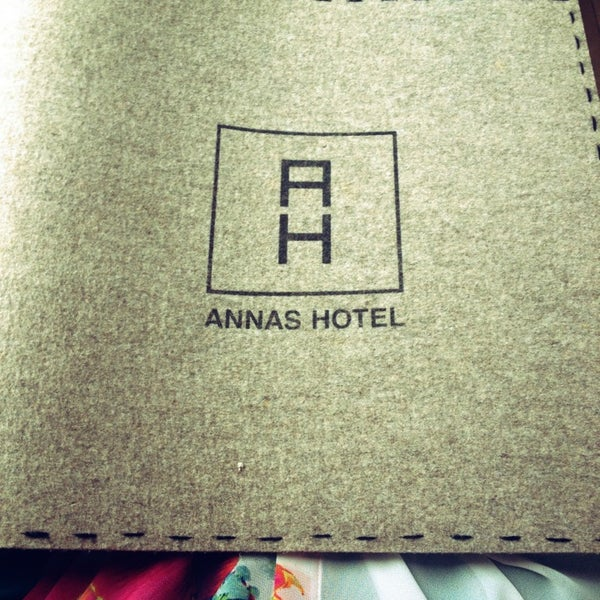 Photo taken at Annas Hotel by Monta J. on 3/30/2013