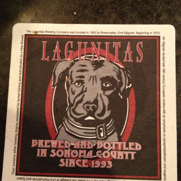 Photo taken at Lagunitas Brewing Company by Jason R. on 4/14/2013
