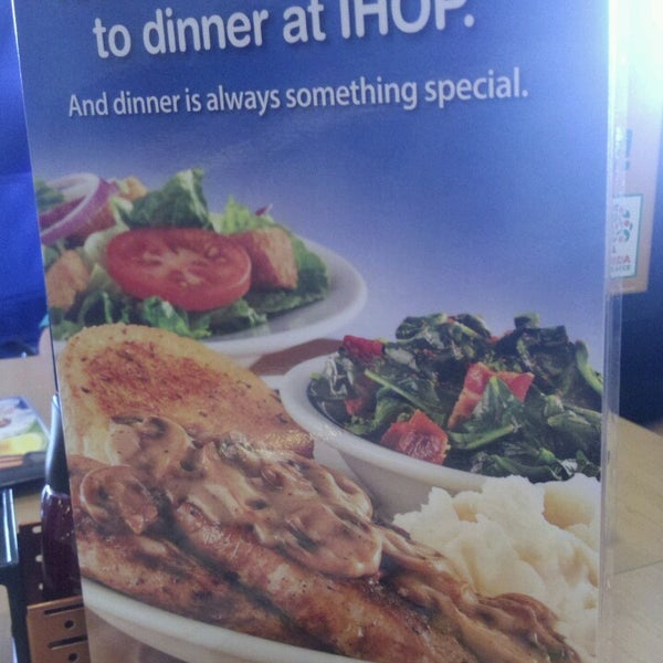 Photo taken at IHOP by Rickie C. on 5/16/2013