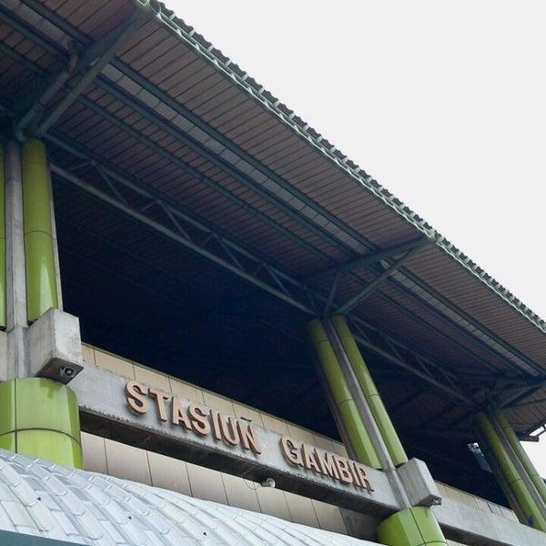Photo taken at Stasiun Gambir by @TravelAwan on 7/6/2013