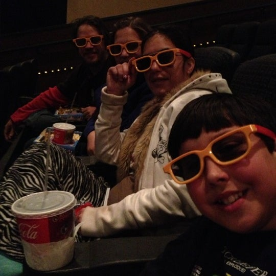 Photo taken at Regal Cinemas Birkdale 16 & RPX by Linda K. on 12/24/2012