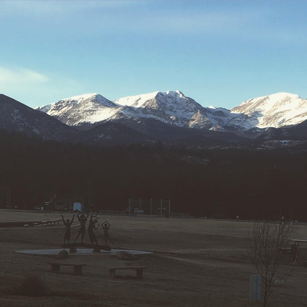 Photo taken at YMCA of the Rockies by Mark C. on 2/20/2016