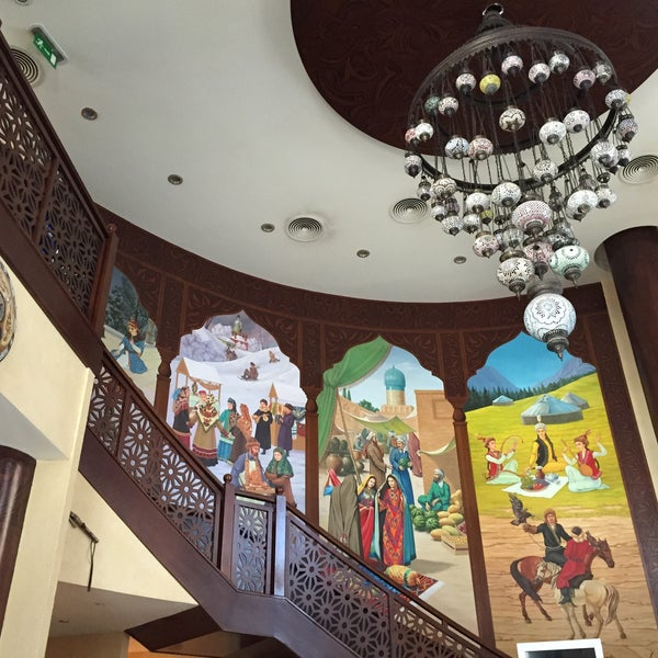 Photo taken at Gulnaz Cafe by Zarina A. on 5/1/2015